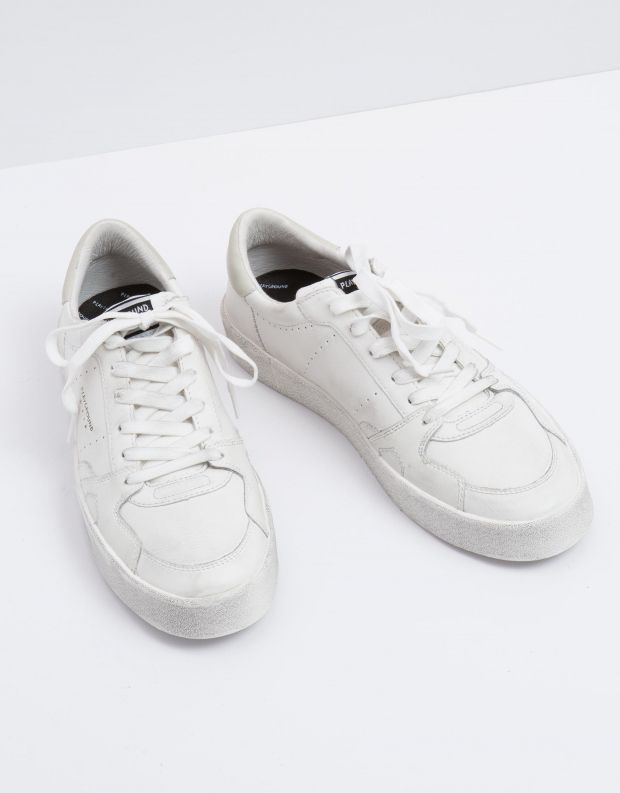 נעלי גברים - PlayGround - סניקרס PLAYFLIPS - לבן