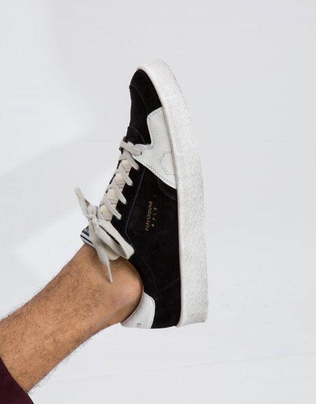 נעלי גברים - PlayGround - סניקרס PLAYFLIPS - שחור