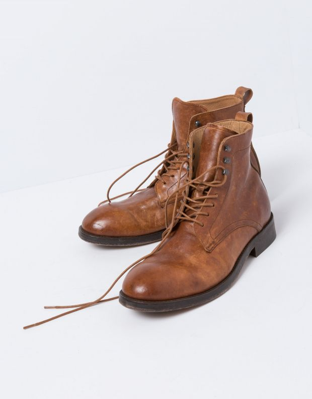נעלי גברים - Hudson - נעל YEW - קאמל