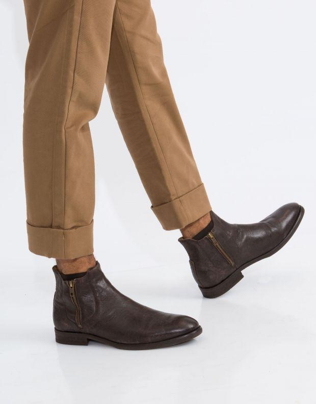 נעלי גברים - Hudson - מגפון MITCHELL עור - חום
