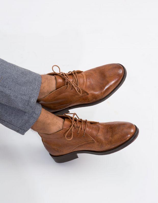 נעלי גברים - Hudson - נעל DARTMOOR - קאמל