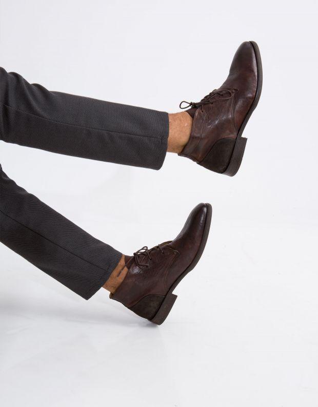 נעלי גברים - Hudson - נעל RYECROFT עור - חום