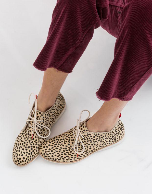 נעלי נשים - Rollie - נעל CHUKKA - בז'   שחור