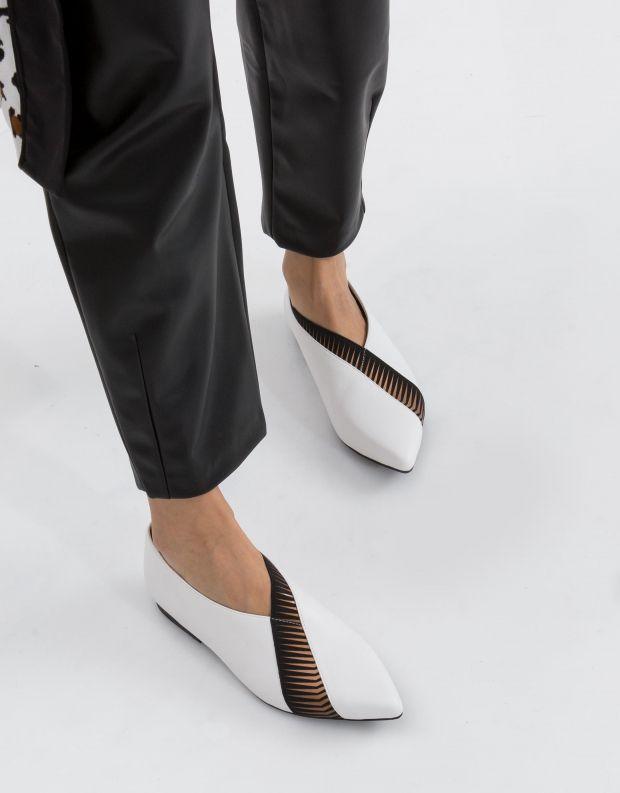 נעלי נשים - United Nude - סירה ZINK PEEK LO - לבן