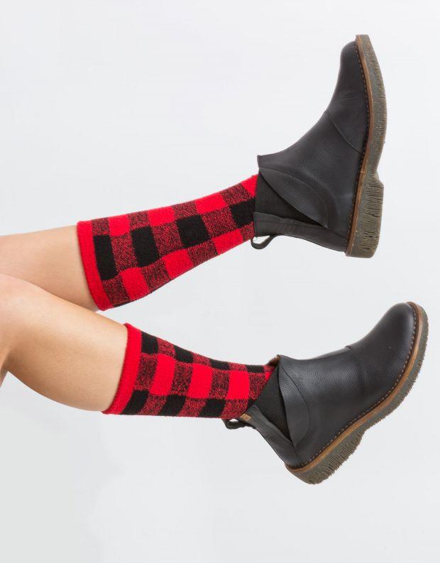 נעלי נשים - El Naturalista - מגפון VOLCANO - שחור