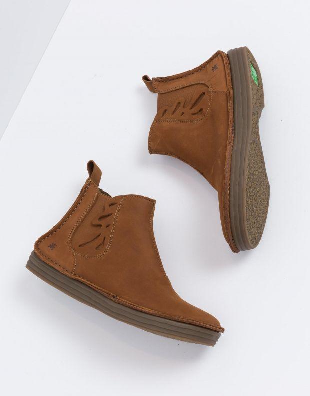 נעלי נשים - El Naturalista - מגפון RICE FIELD - חום