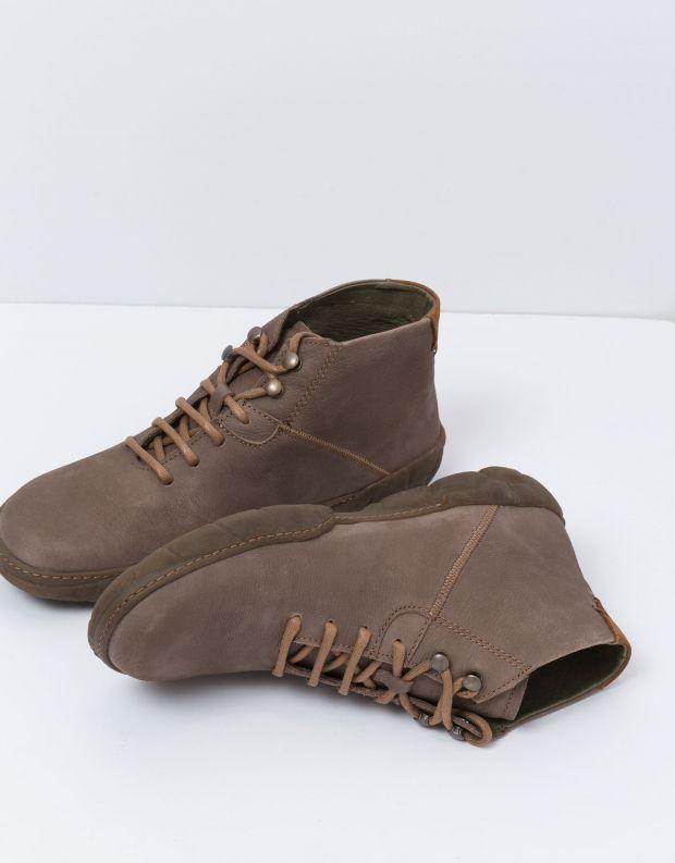 נעלי גברים - El Naturalista - נעל גבוהה TURTLE - אפור