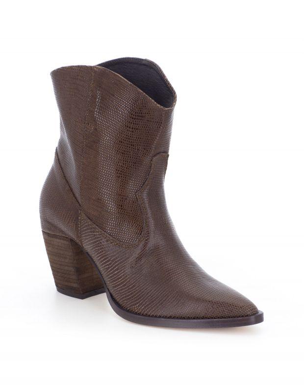 נעלי נשים - Vialis - מגפון GIPSY - חום בהיר