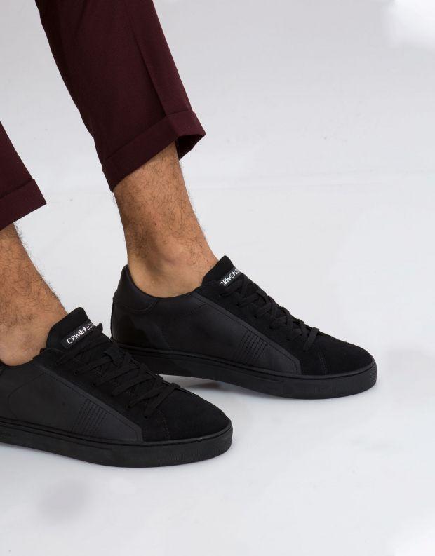 נעלי גברים - Crime London - סניקרס BEAT - שחור