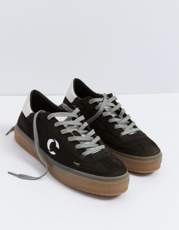 נעלי גברים - Crime London - סניקרס ESSENTIAL - ירוק