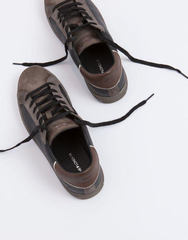 נעלי גברים - Crime London - סניקרס BEAT - שחור חום