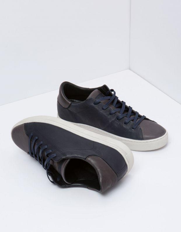 נעלי גברים - Crime London - סניקרס BEAT - כחול   אפור
