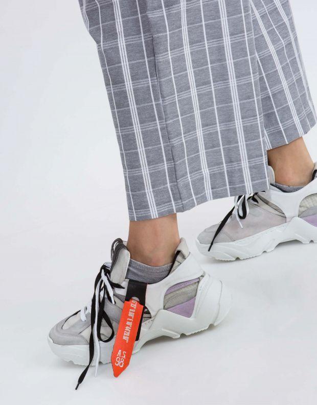 נעלי נשים - A.S. 98 - סניקרס MONSTER - לבן