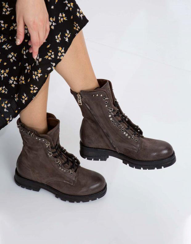 נעלי נשים - A.S. 98 - מגף ENTER שרוך - אפור