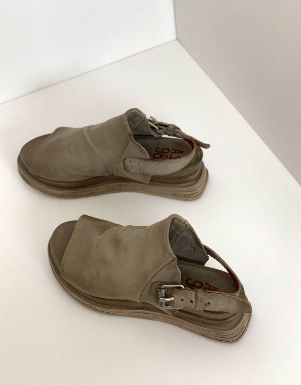 נעלי נשים - A.S. 98 - סנדל LAGOS - חאקי