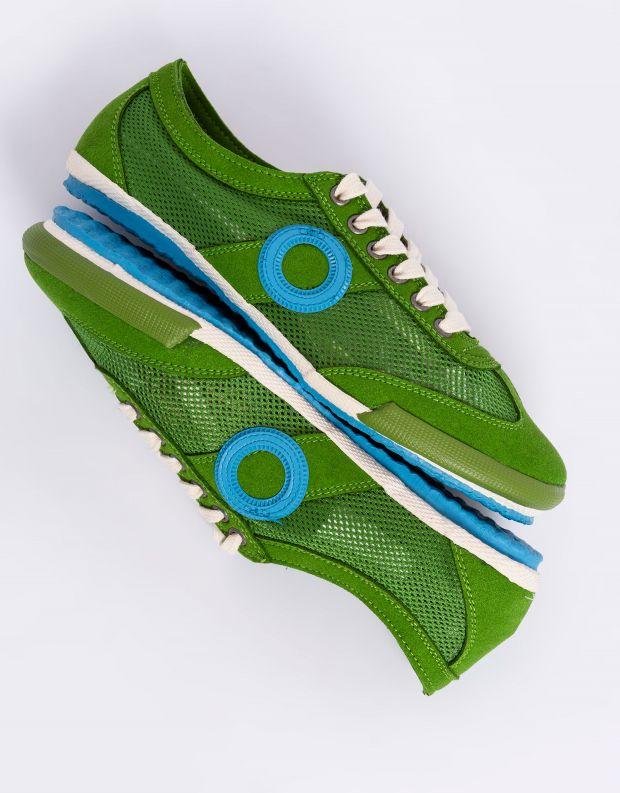 נעלי נשים - Aro - סניקרס JOANETA VEGAN - ירוק   כחול