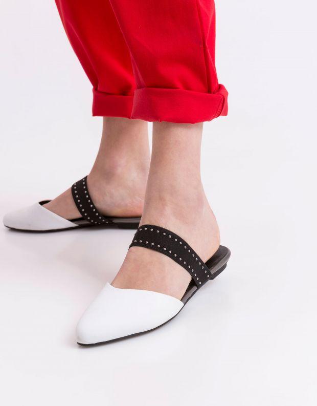 נעלי נשים - NR Rapisardi - קבקב YOLE - לבן