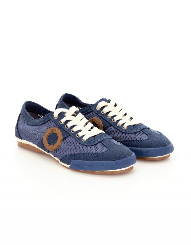 נעלי נשים - Aro - סניקרס JOANETA VEGAN - כחול   חום