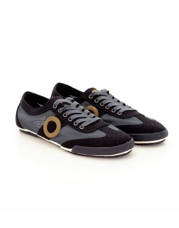 נעלי גברים - Aro - סניקרס JOANETA VEGAN - אפור כהה