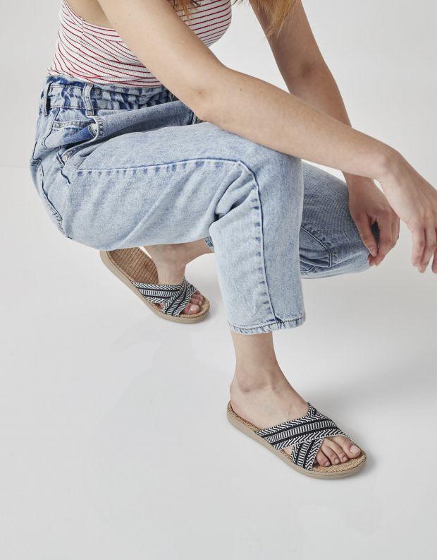 נעלי נשים - Lovelies - כפכפי בד PHI PHI - שחור