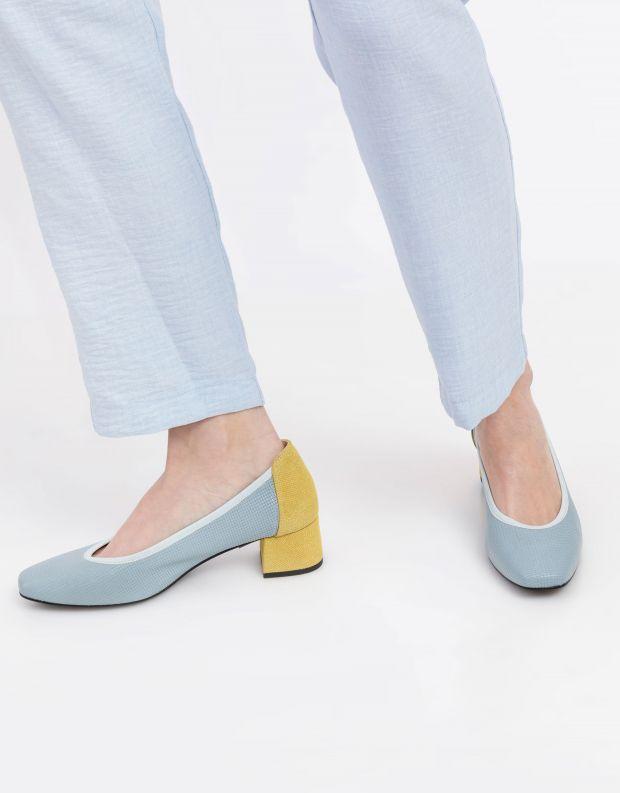 נעלי נשים - Shoemaker - נעלי סירה CHICAGO - תכלת