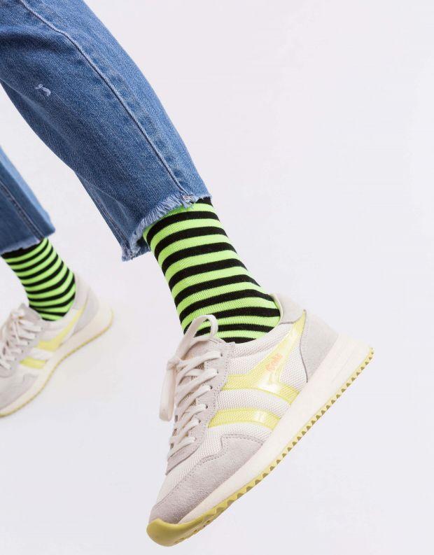 נעלי נשים - Gola - סניקרס VANCOUVER MESH - לבן   צהוב