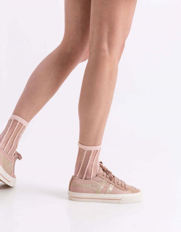 נעלי נשים - Gola - סניקרס QUOTA II MIRROR - ורוד