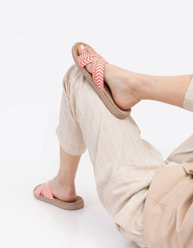 נעלי נשים - Lovelies - כפכפי בד LAGUNA - אדום