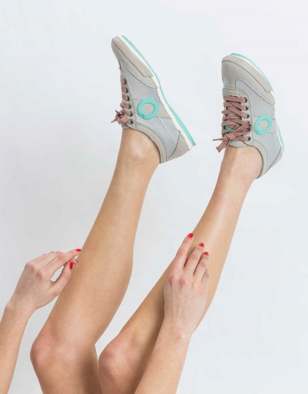 נעלי נשים - Aro - סניקרס JOANETA VEGAN - אפור