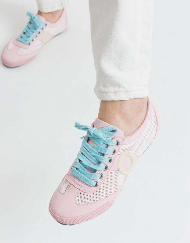 נעלי נשים - Aro - סניקרס JOANETA VEGAN - ורוד