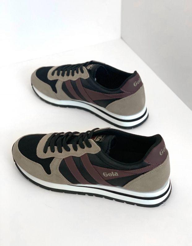 נעלי גברים - Gola - סניקרס DAYTONA - שחור   בז'