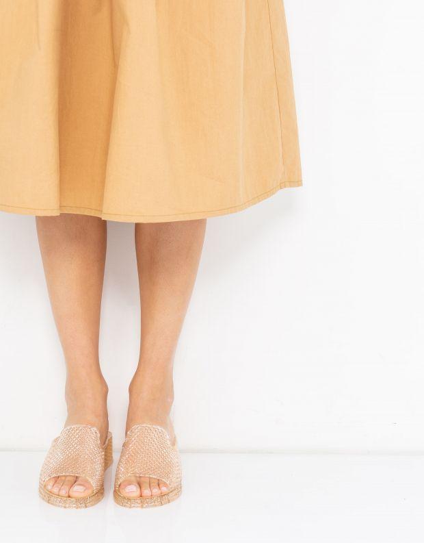 נעלי נשים - Jeffrey Campbell - קבקב FLING - אפרסק