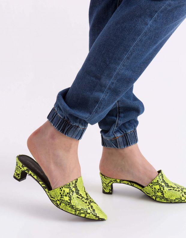 נעלי נשים - Jeffrey Campbell - קבקב MARINE SNAKE - צהוב