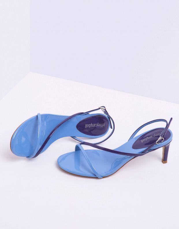 נעלי נשים - Jeffrey Campbell - סנדל MORPH לק - כחול