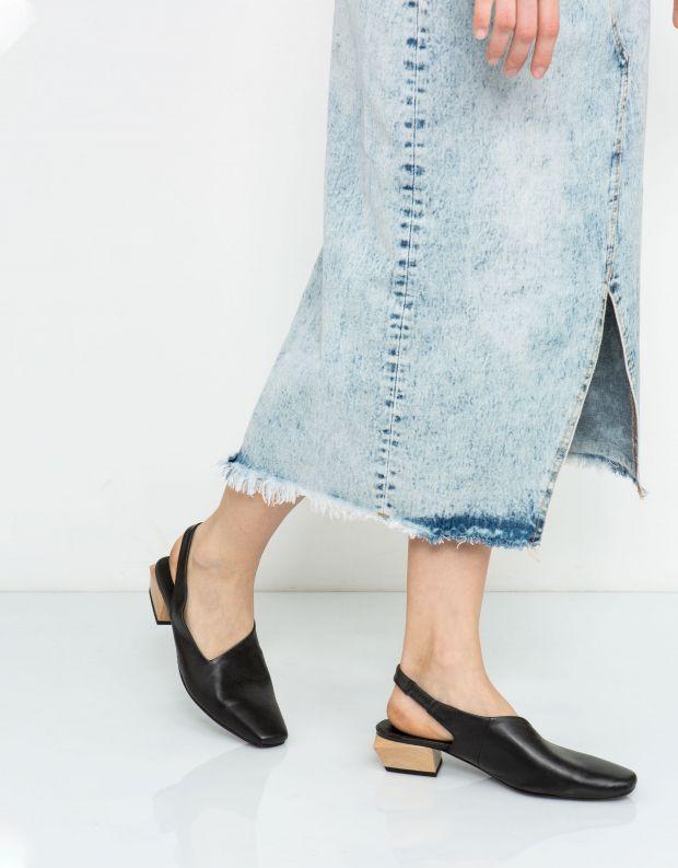 נעלי נשים - Yuko Imanishi - סנדל KAREN - שחור
