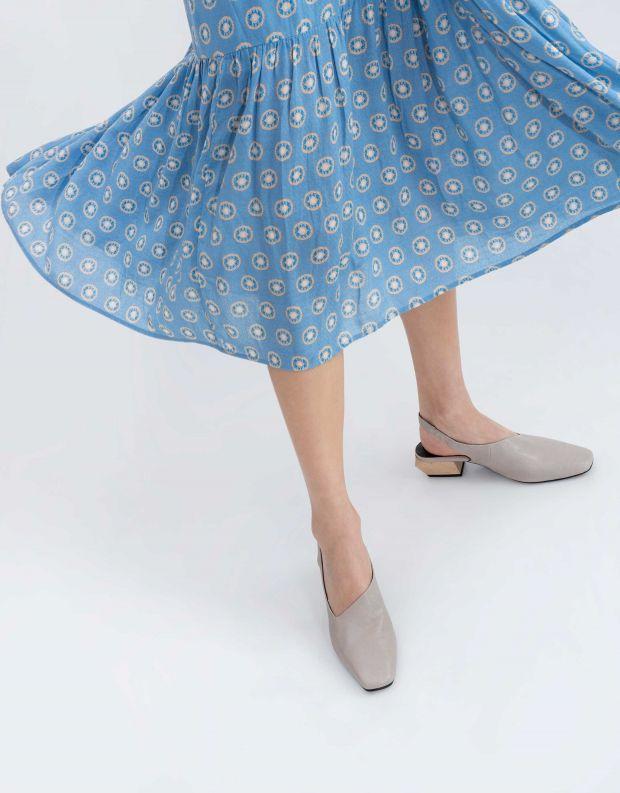 נעלי נשים - Yuko Imanishi - סנדל KAREN - אפור