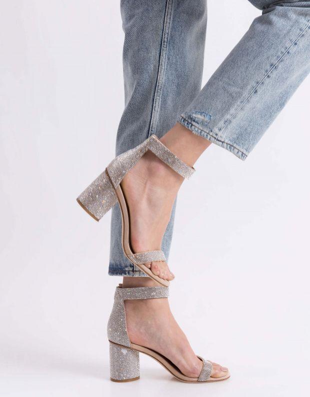 נעלי נשים - Jeffrey Campbell - סנדל LAURA - ניוד