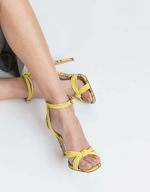 נעלי נשים - Schutz - סנדל CAROLINA - צהוב