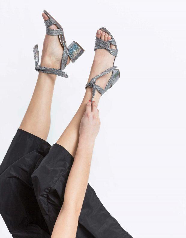 נעלי נשים - Schutz - סנדל Fernanda - כסף