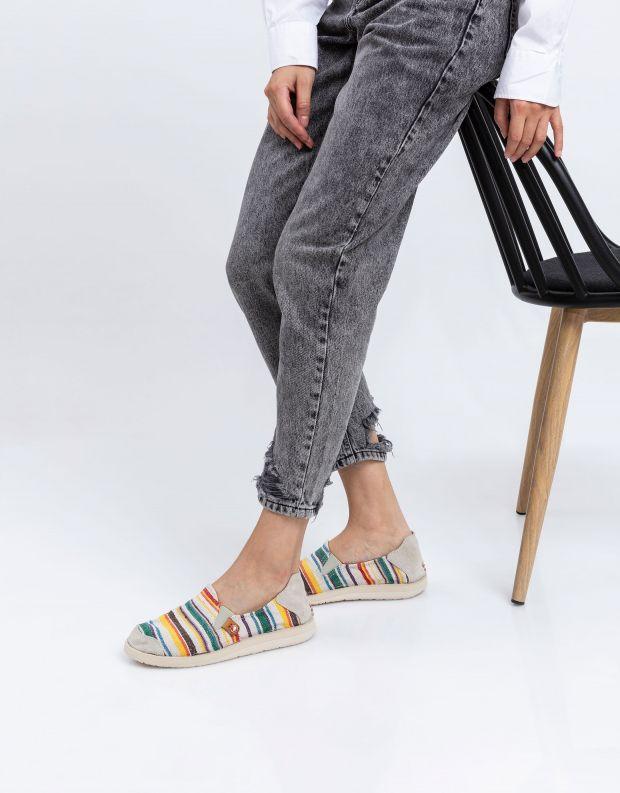 נעלי נשים - Satorisan - נעל KUNG FU פסים - צבעוני