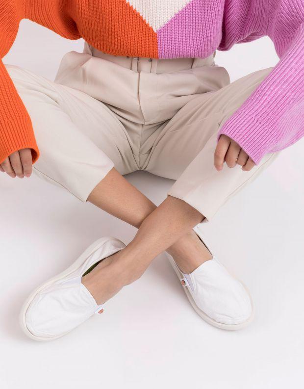 נעלי נשים - Satorisan - נעל KUNG FU - לבן
