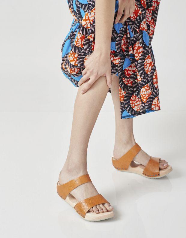 נעלי נשים - Trippen - כפכפי עץ BAD - כתום
