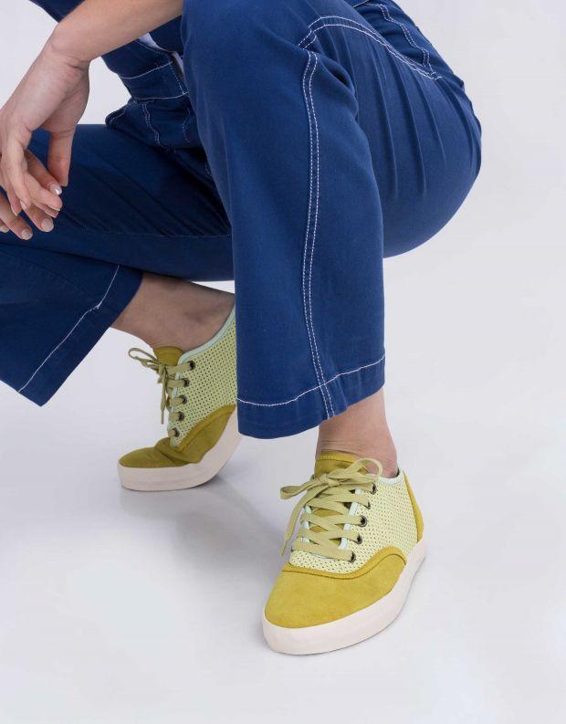 נעלי נשים - Aro - סניקרס NOELLE - צהוב