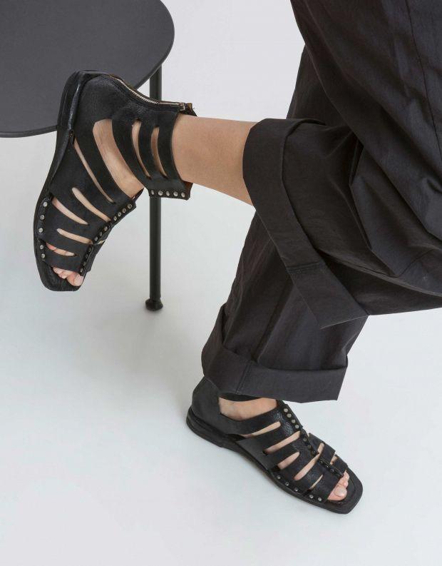 נעלי נשים - A.S. 98 - סנדל גבוה COOL - שחור