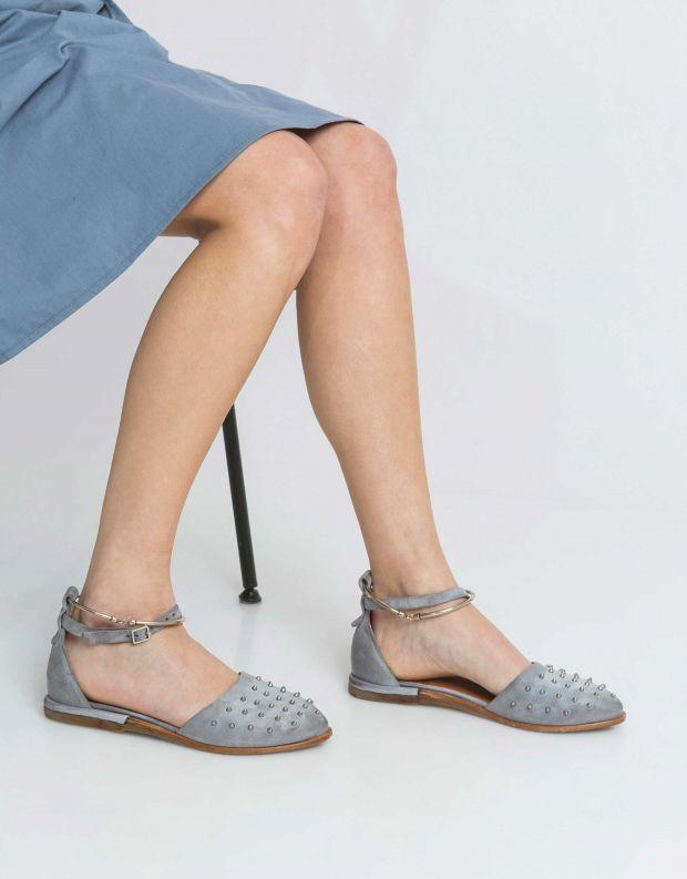 נעלי נשים - A.S. 98 - סנדל DUAL ניטים - אפור