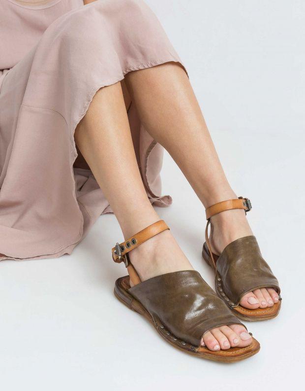 נעלי נשים - A.S. 98 - סנדל COOL - זית