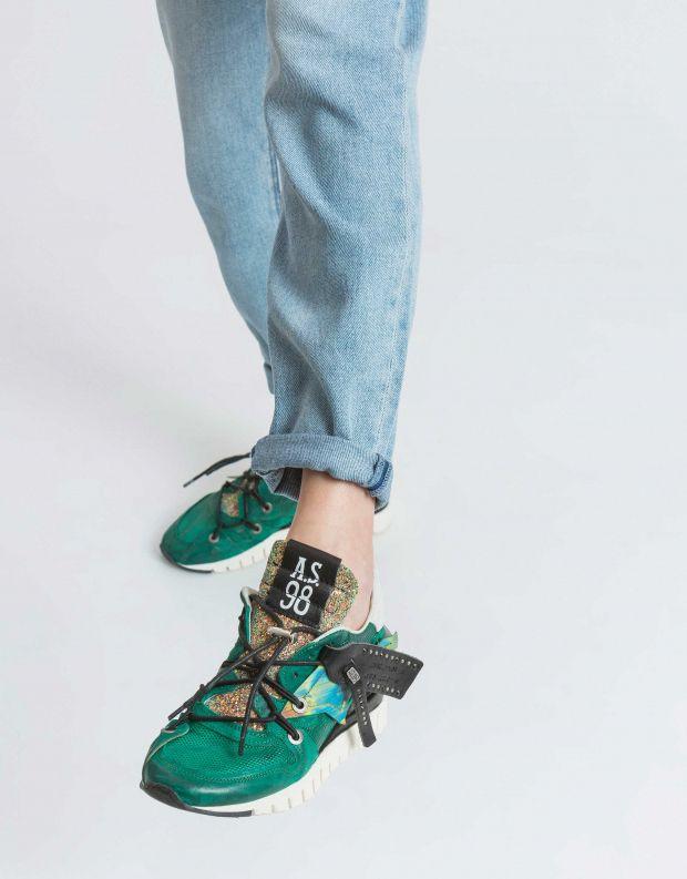 נעלי נשים - A.S. 98 - סניקרס DENATSTAR - ירוק