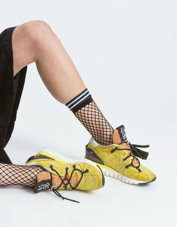 נעלי נשים - A.S. 98 - סניקרס DENATSTAR - צהוב
