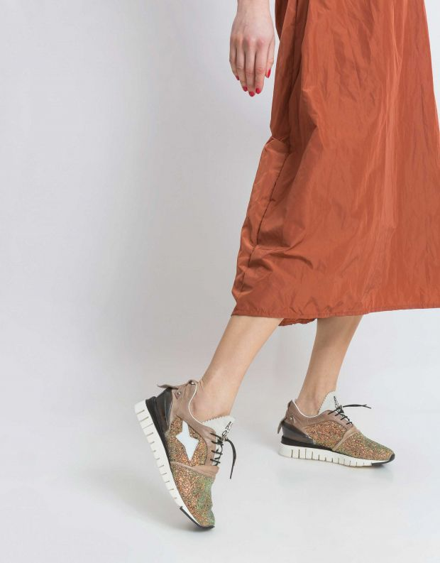 נעלי נשים - A.S. 98 - סניקרס DENATSTAR צבעוני - אפור