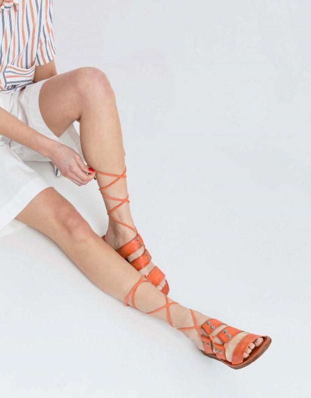 נעלי נשים - A.S. 98 - סנדל RAMOS קולר - אדום